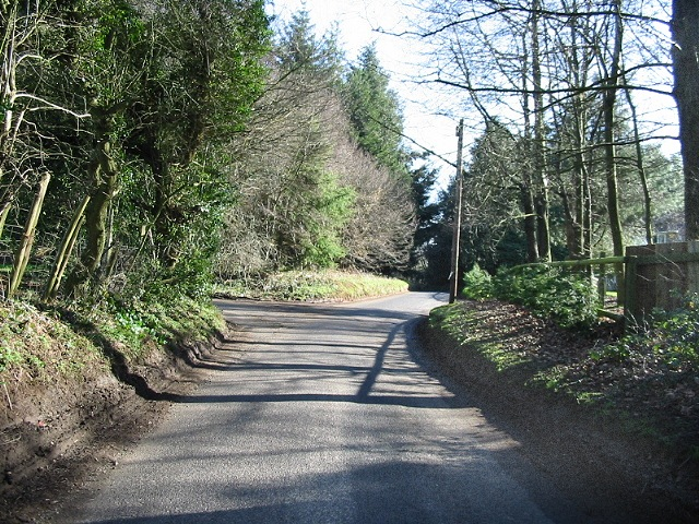 Road near Sixmile