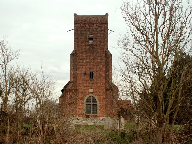 The tower of St. Peter's church at Little Warley