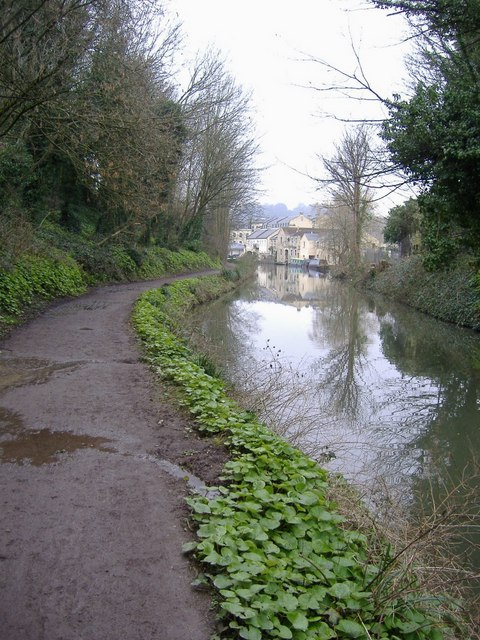 The Kennet and Avon canal, Bath