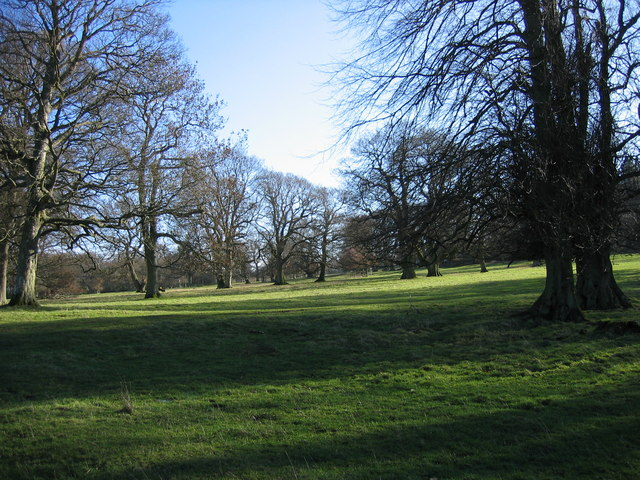 The grounds of Minsteracres Monastery