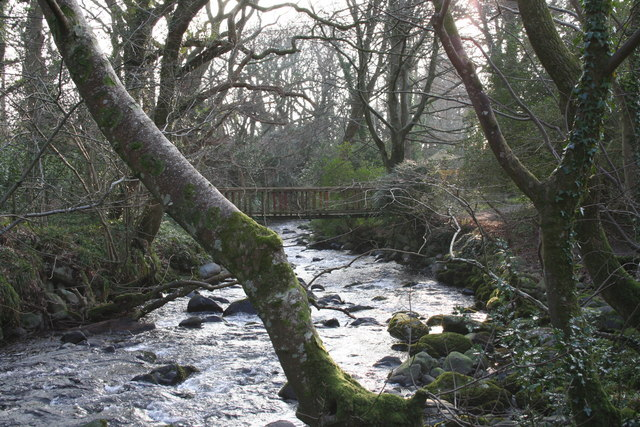 Footbridge over the Ysgethin, Talybont