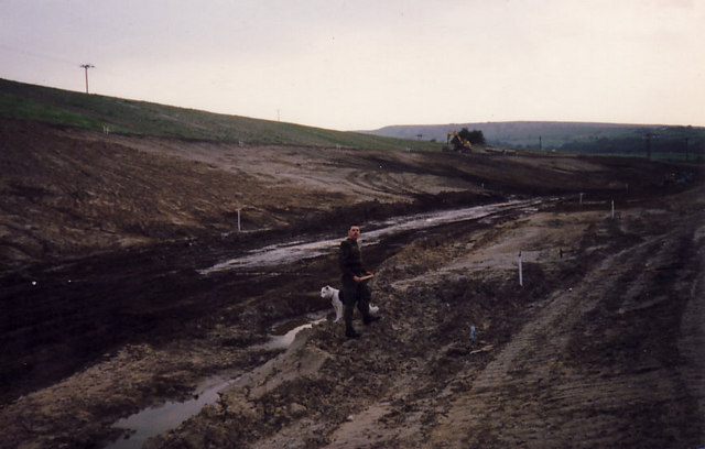 Carving up the Landscape to build the Chapel-en-le Frith bypass