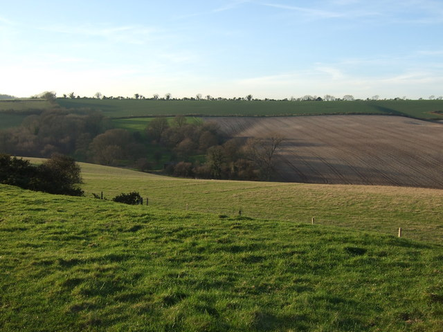 View across the valley towards Magiston