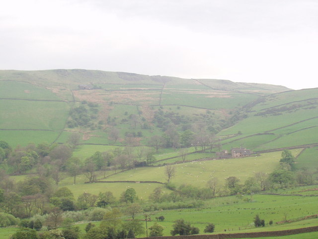 View across Valley from Chinley Head
