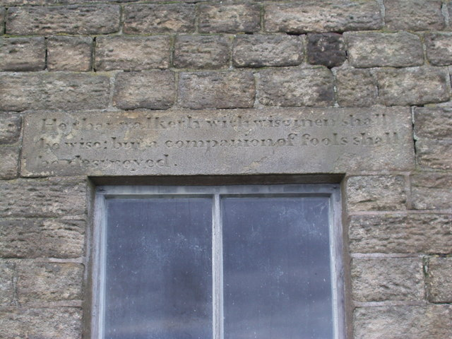 Beet Farm - Stone Inscription