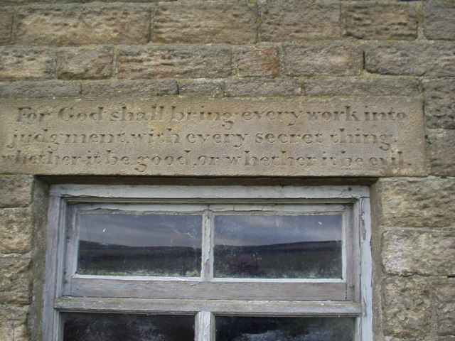 Beet Farm - Stone Inscription