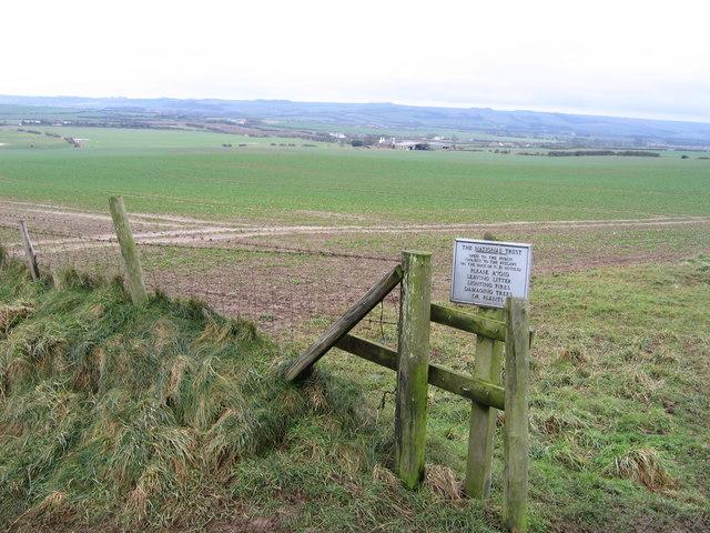 National Trust Boundary