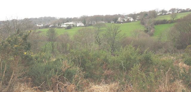 The Snowdonia Caravan Park from the Clegyr path
