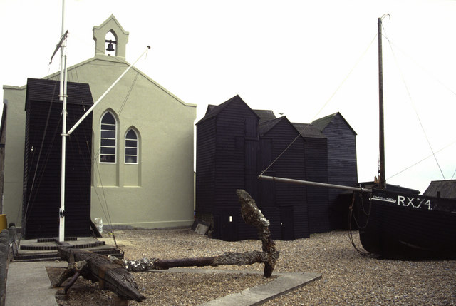 Net Sheds and chapel, Hastings