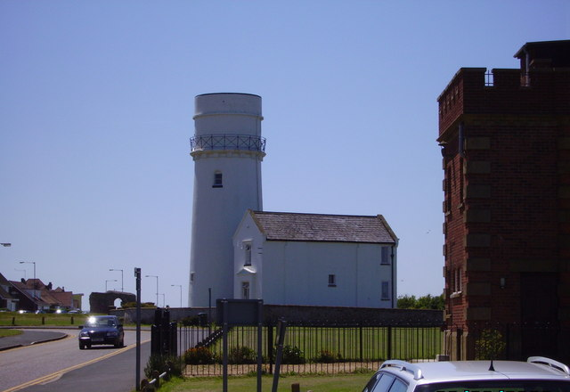 Old lighthouse in Old Hunstanton