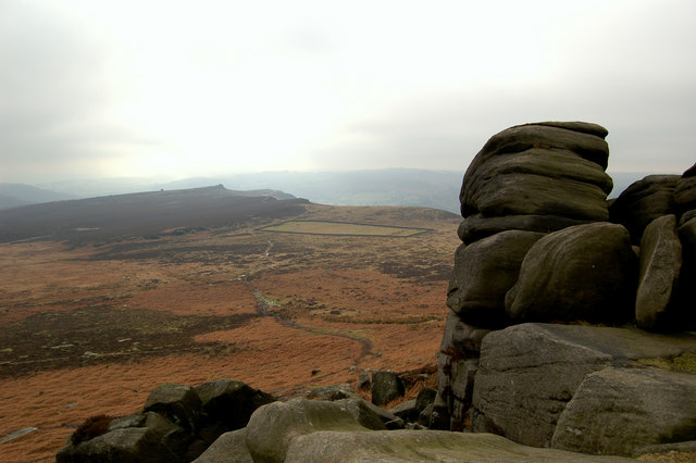 Hathersage Moor from Higger Tor