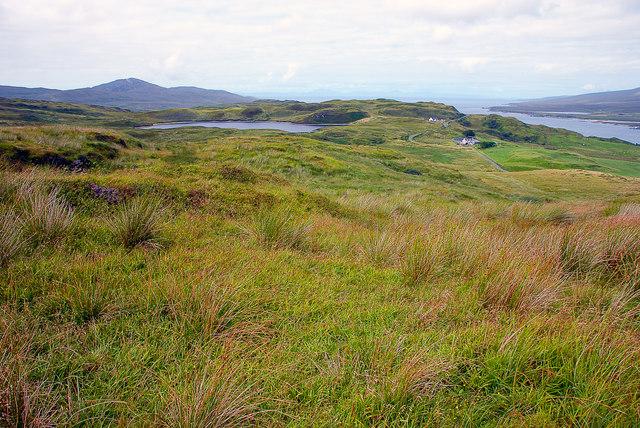Loch nam Ban, Islay