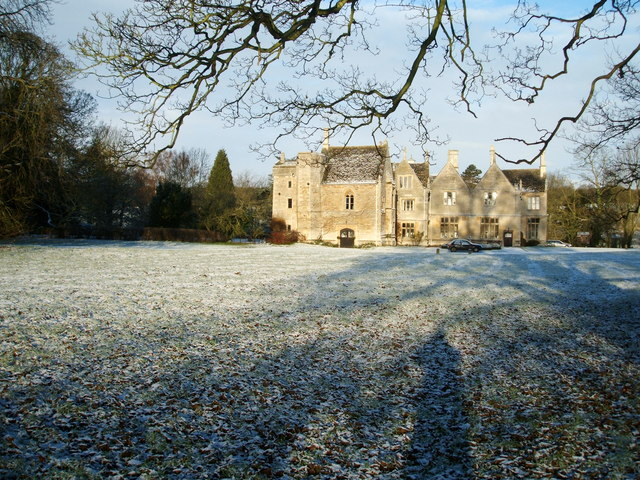 Southwick Hall on a winter's morning