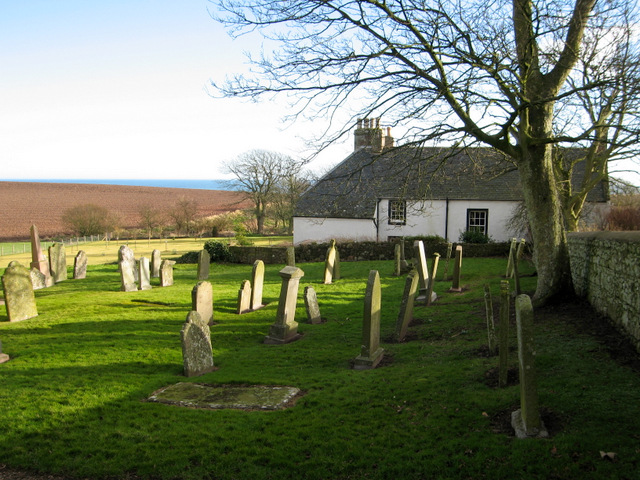 The manse at old Kinneff Kirk
