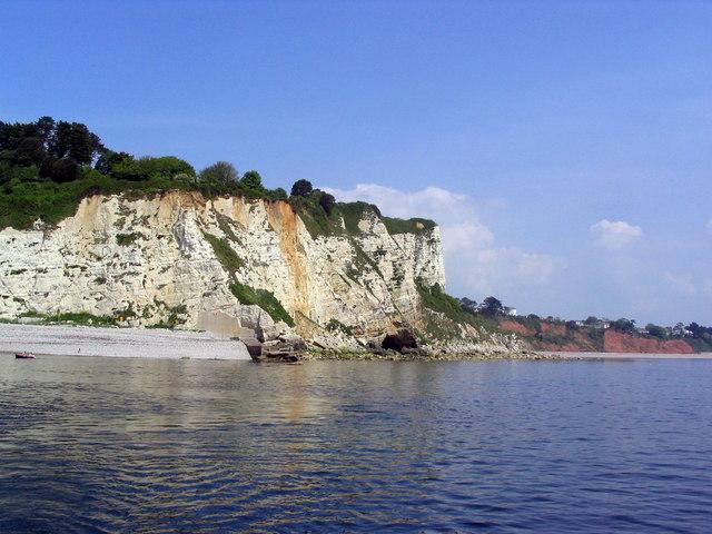 Cliffs East of Beer