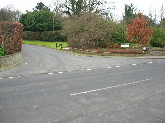 Entrance To Margate Crematorium