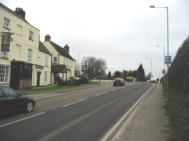 The Gate Inn on the old A2