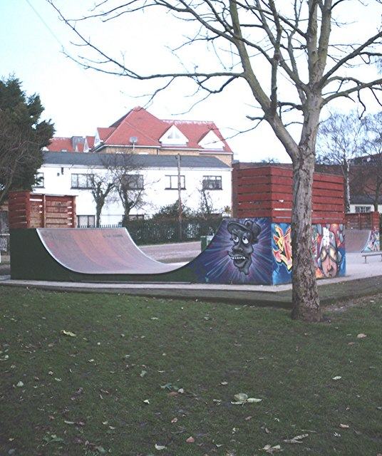 Skate park, King George's playing field