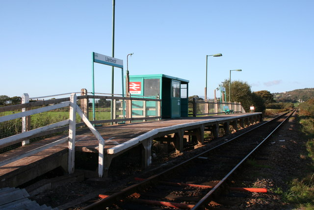 Llanbedr Station - Cambrian Coast Line