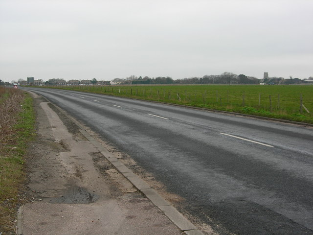 The A28 to St Nicholas at Wade