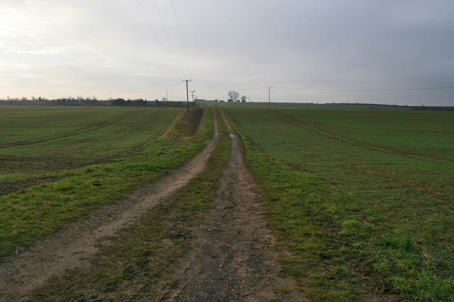 Footpath near Ropsley