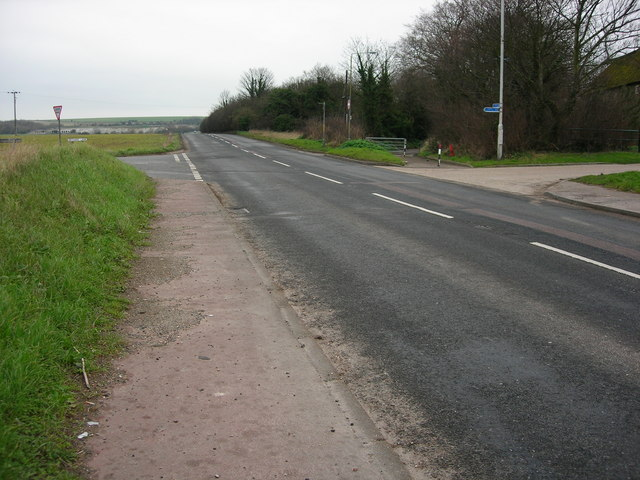 Blocked Road To Monkton