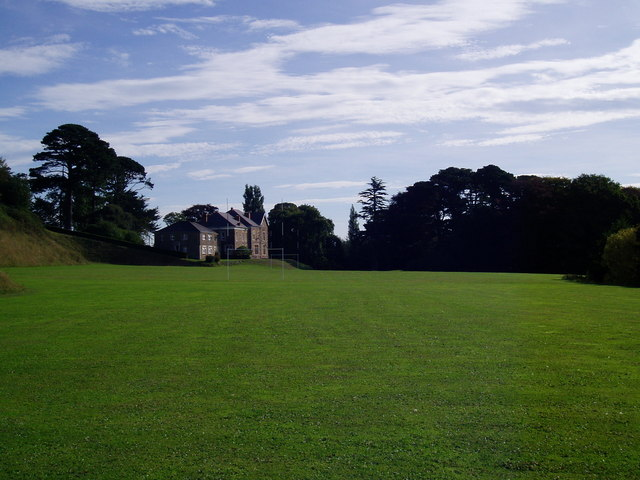 Edgehill College and Rugby pitch