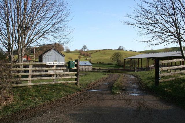 Lower Bryn y Groes farm