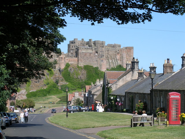 Bamburgh and the Castle