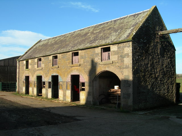 Farm Building at Westruther Mains