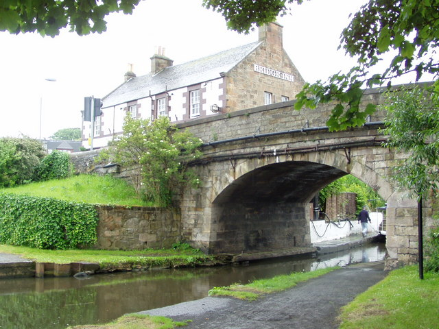 The canal bridge, Ratho
