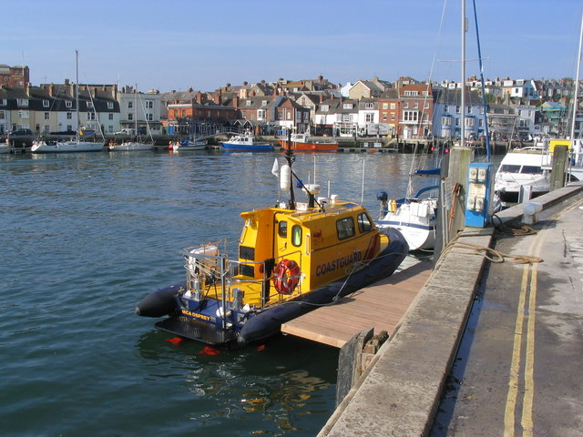 Weymouth Harbour from the Commercial Quay