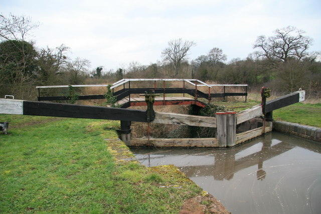 Lock 3 on Droitwich Canal