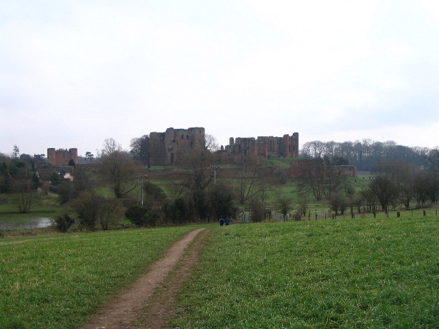 Kenilworth Castle from the NW