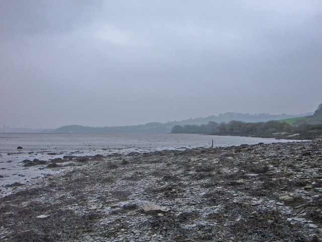 Headland View over mudflats from Sango Point
