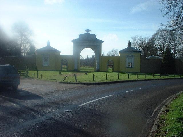 Dyrham Park Main Entrance