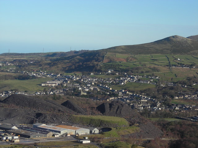 Penrhyn Quarry and Bethesda.