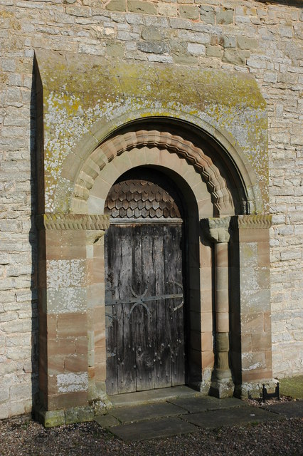 Door in Pirton church