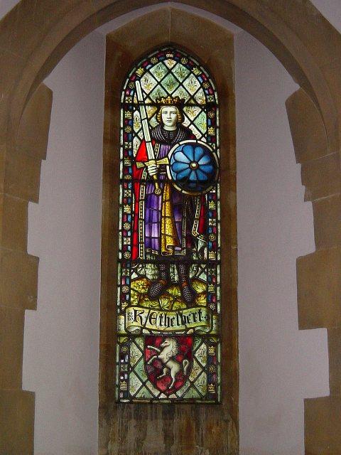 King Ethelbert window