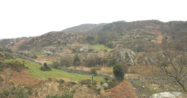 The site of Llyn y Felin