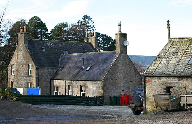 Tullochallum Farm House