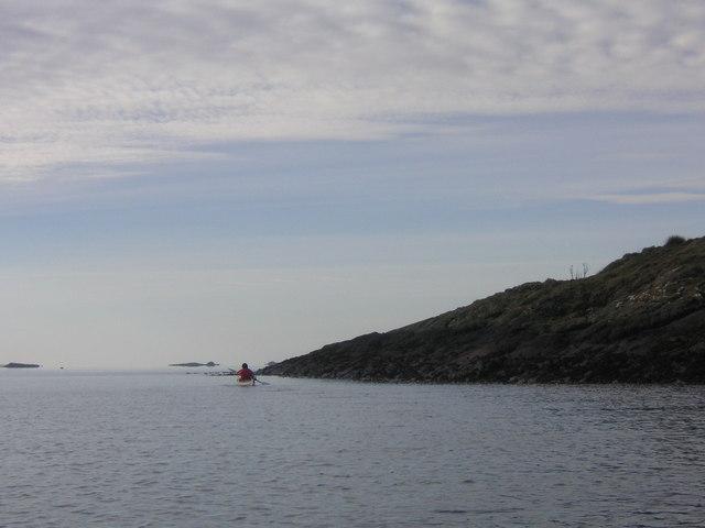 South end of Eilean Creagach