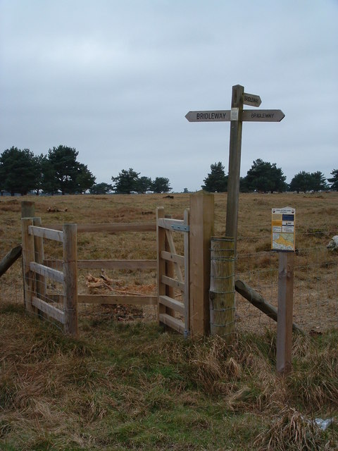 New Gatepost And Sign