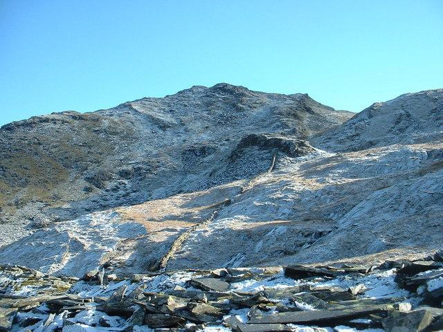 The slopes of Foel Ddu