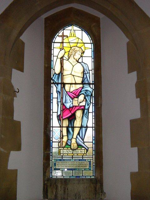 St Andrew window