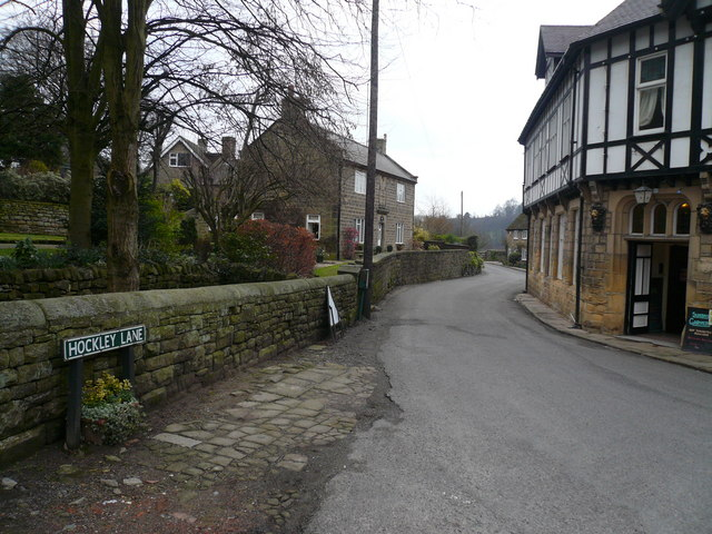 Ashover - Hockley Lane
