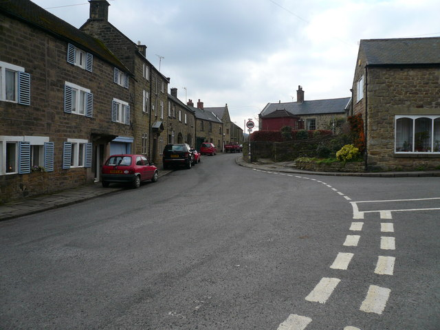 Ashover - Junction of Church Street and Butts Road