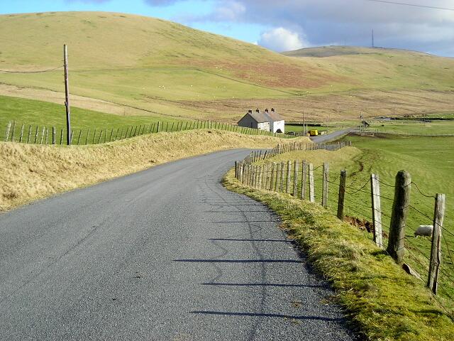 Manse Road Near Crawfordjohn