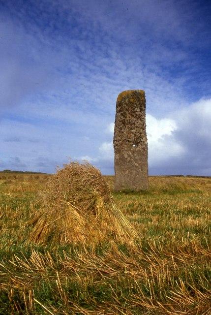 North Ronaldsay standing stone