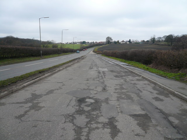 A61 Layby - View towards Tupton